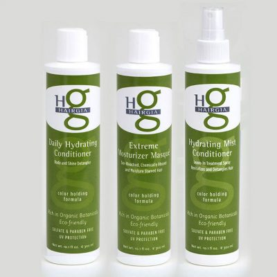Hair Conditioners with Natural Botanicals